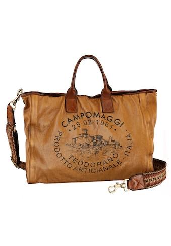 Campomaggi Shopper »Salome«, mit großem Logo Print kaufen