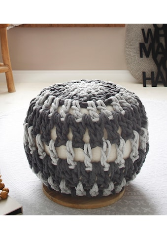 Home affaire Pouf »Macreme« kaufen