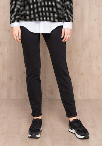 bianca 5-Pocket-Hose »SHAPE«, im angesagten Denim-Look mit braunen Nähten kaufen