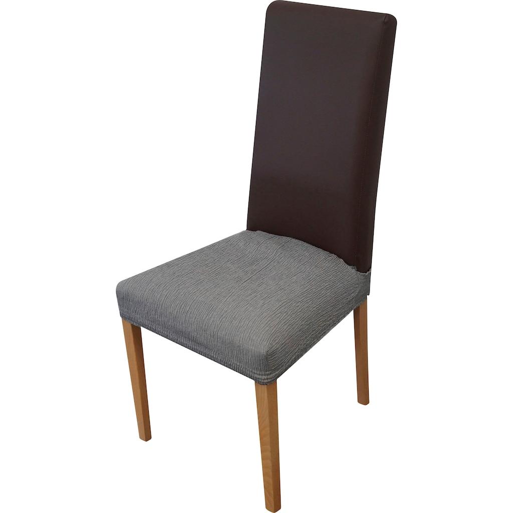 Dohle&Menk Sitzflächenhusse »Teide«, monoelastische Stretchware mit hohem Baumwollanteil