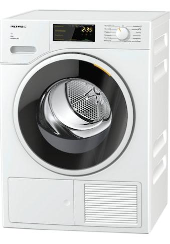 Wärmepumpentrockner, Miele, »TWD360 WP 8 kg T1  Lotosweiß« kaufen