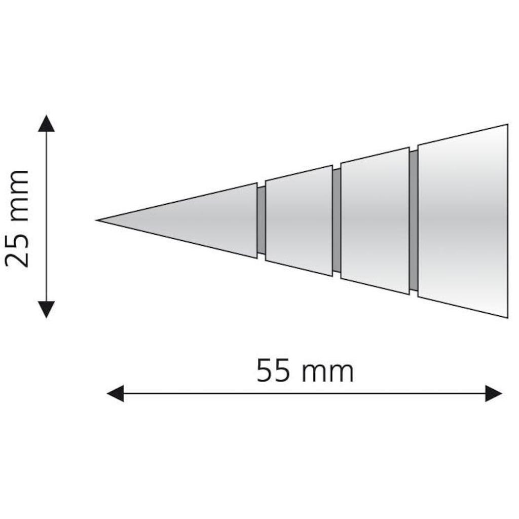 Liedeco Gardinenstangen-Endstück »Kegel«, für Gardinenstangen Ø 16 mm