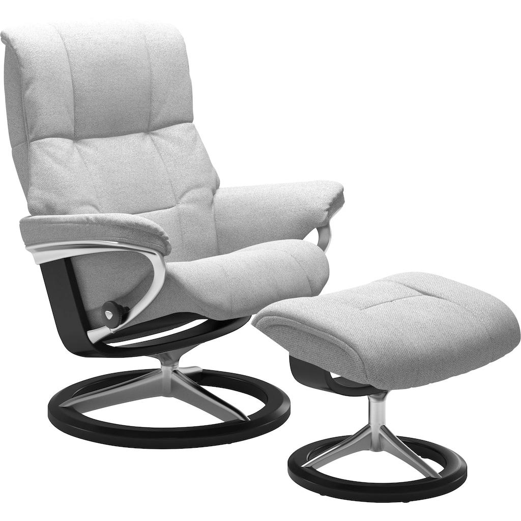 Stressless® Relaxsessel »Mayfair«, mit Hocker, mit Signature Base, Größe S, M & L, Gestell Schwarz