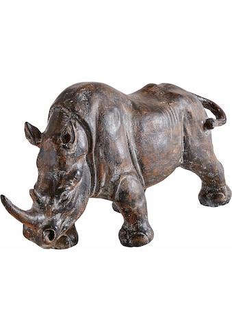 HOFMANN LIVING AND MORE Tierfigur »Nashorn« kaufen
