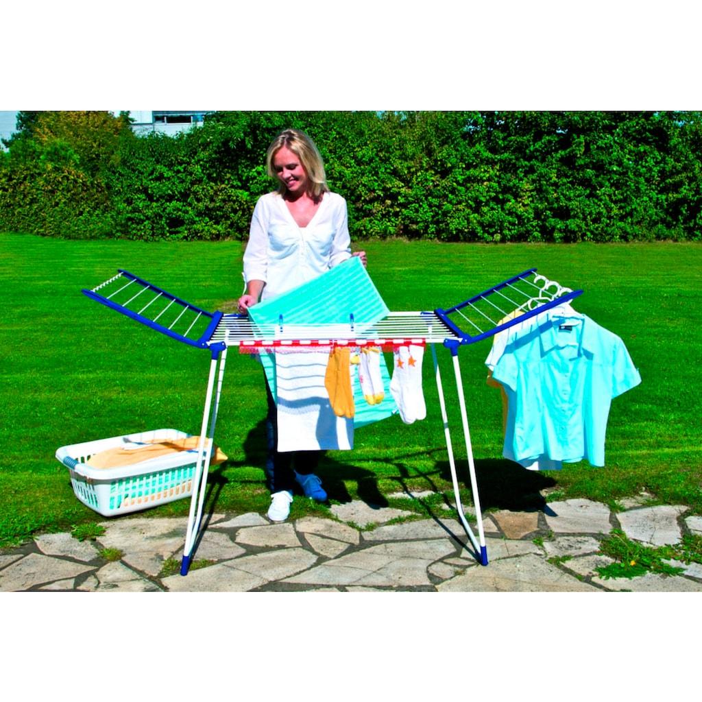 Leifheit Wäscheständer »Pegasus 200«, inkl. 5 Kleiderbügel, 2 Kleinteilehalter