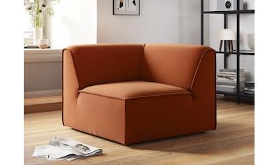 COUCH♥ Sofa-Eckelement »Fettes Polster«, Modulelement, viele Module für individuelle... kaufen