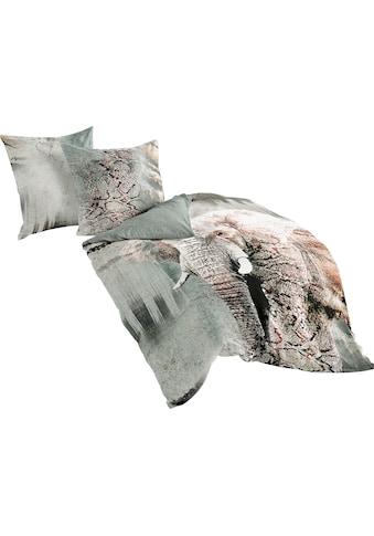 BIERBAUM Wendebettwäsche »Elefant«, im Digitaldruck kaufen