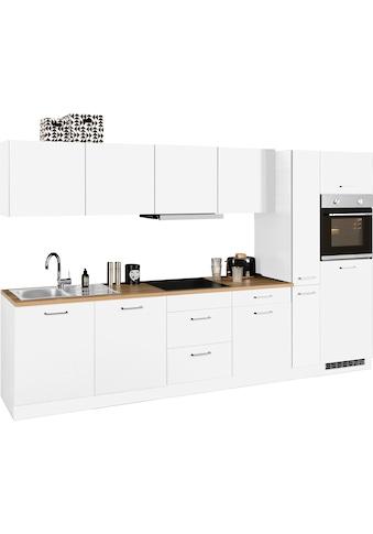 HELD MÖBEL Küchenzeile »Kehl«, mit E-Geräten, Breite 330 cm, wahlweise mit... kaufen