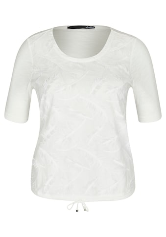LeComte T-Shirt, mit Federfransen und Tunnelzug kaufen