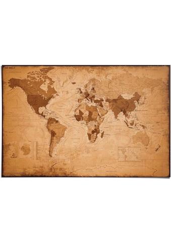 Reinders! Poster »Weltkarte Antik«, (1 St.) kaufen