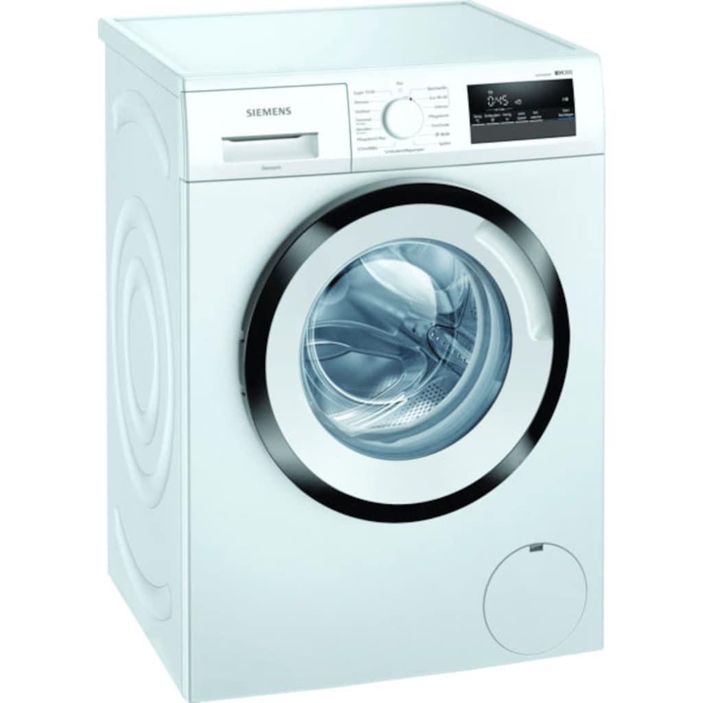 SIEMENS Waschmaschine »WM14N122«, iQ300, WM14N122, 7 kg, 1400 U/min