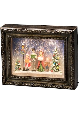 KONSTSMIDE LED Laterne, LED-Modul, 1 St., Warmweiß, LED Bilderrahmen mit Weihnachtschor kaufen