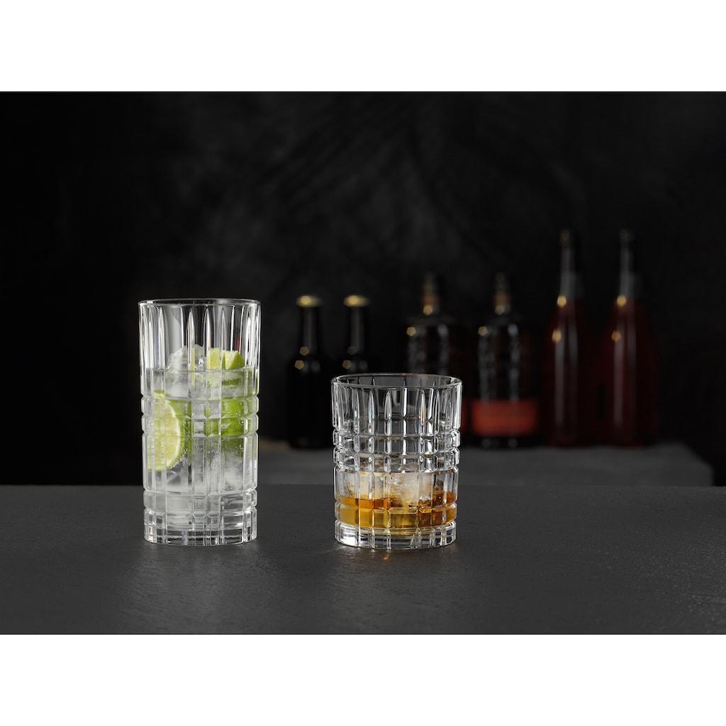 Nachtmann Gläser-Set »Highland«, (Set, 12 tlg.), mit markantem Schliff, 12-teilig