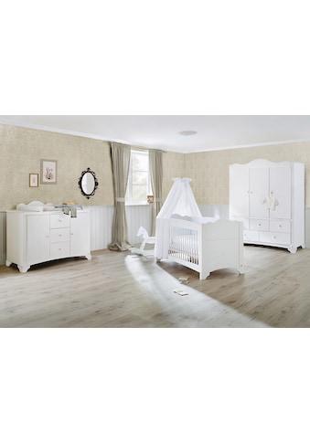 Pinolino® Babyzimmer-Komplettset »Pino«, (Set, 3 St.), extrabreit groß mit 3 Türen;... kaufen