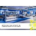Hilding Sweden Komfortschaummatratze »Pure Twocore«, 22 cm cm hoch, Raumgewicht: 40 kg/m³, (1 St.), 2 Härtegrade in einer Matratze