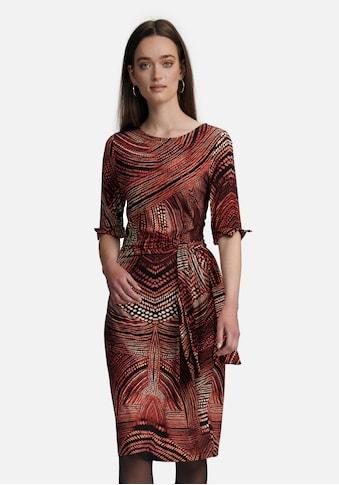 Uta Raasch Jerseykleid »in Wickeloptik«, mit Rundhals kaufen