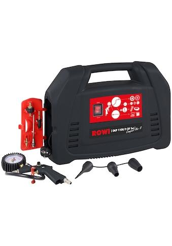 ROWI Set: Kompressor »DKP 1100/3 OF Compact Air II« kaufen