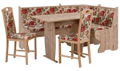 Home affaire Eckbankgruppe »Minden 1«, (Set, 4 tlg., Die Stühle weichen in der Farbe... kaufen