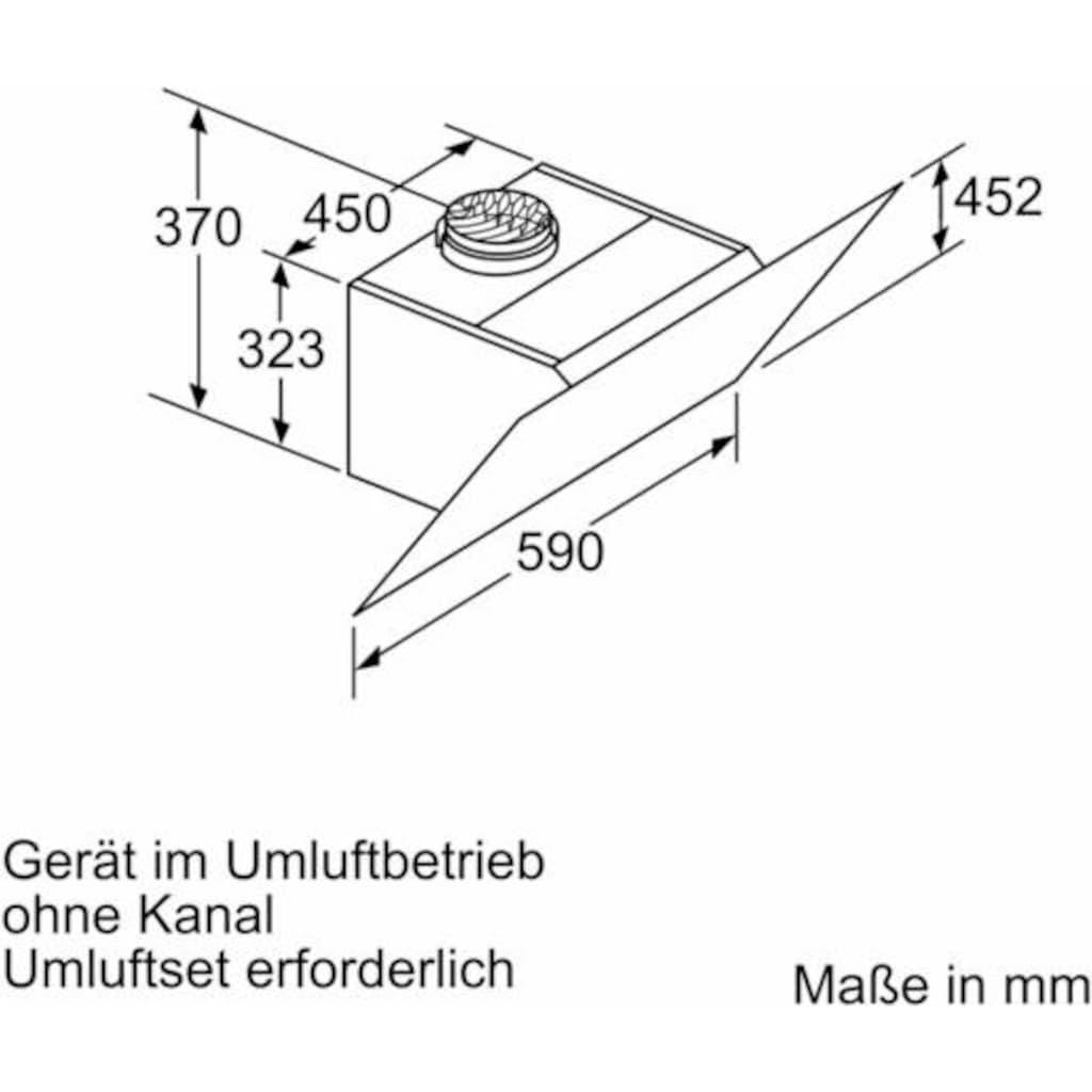 SIEMENS Kopffreihaube »LC67KHM10«, Serie iQ300