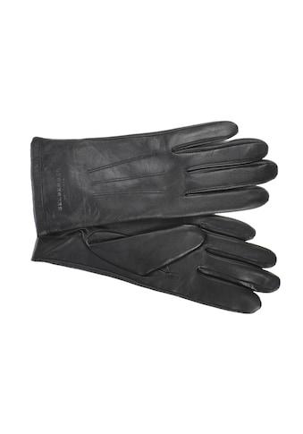 Seeberger Strickhandschuhe »Fingerhandschuh in weichem Schafsleder 18468-0« kaufen