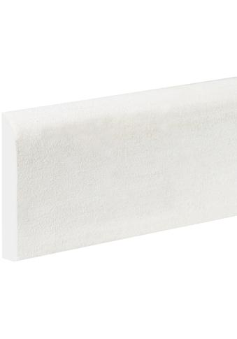 BODENMEISTER : Sockelleiste »Biegeleiste Oberkante abgerudet weiß«, flexibel, biegbar, Höhe: 6,9 cm kaufen