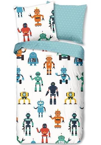 good morning Wendebettwäsche »Robots«, mit Robotern kaufen