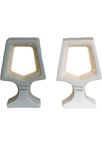 VALENTINO Wohnideen LED Dekolicht »Adea«, Warmweiß, 2er Set, 1x grau + 1x weiß kaufen
