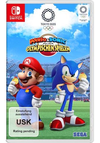Nintendo Switch Spiel »Mario & Sonic bei den Olympischen Spielen«, Nintendo Switch kaufen