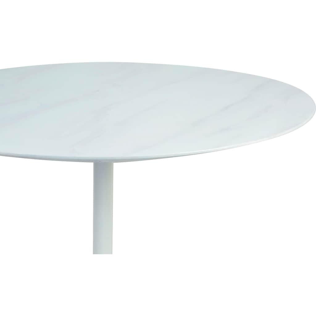 SalesFever Esstisch, Tischplatte in Marmoroptik