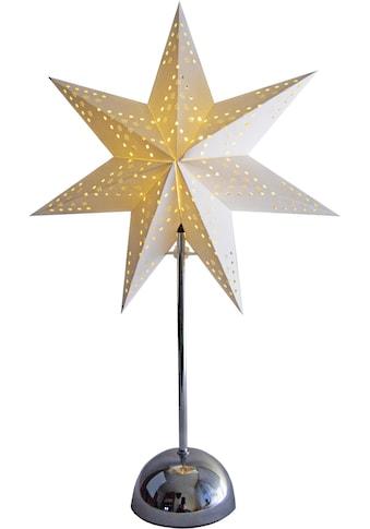 STAR TRADING Tischleuchte »Stern«, Warmweiß, mit Timer kaufen