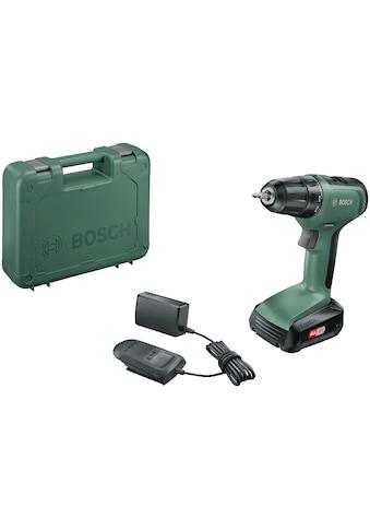BOSCH Akku-Bohrschrauber »UniversalDrill 18«, (Set), inkl. Akku und Koffer kaufen