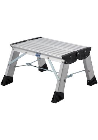 KRAUSE Trittleiter »Treppy Plusline Alu«, Aluminium, 1x1 Stufen, Arbeitshöhe ca. 220 cm kaufen