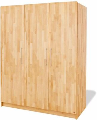 Kleiderschrank in Holzdekor