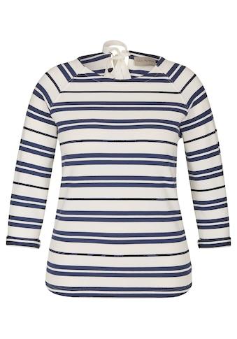 VIA APPIA Maritimes Sweatshirt mit Ringel-Muster kaufen