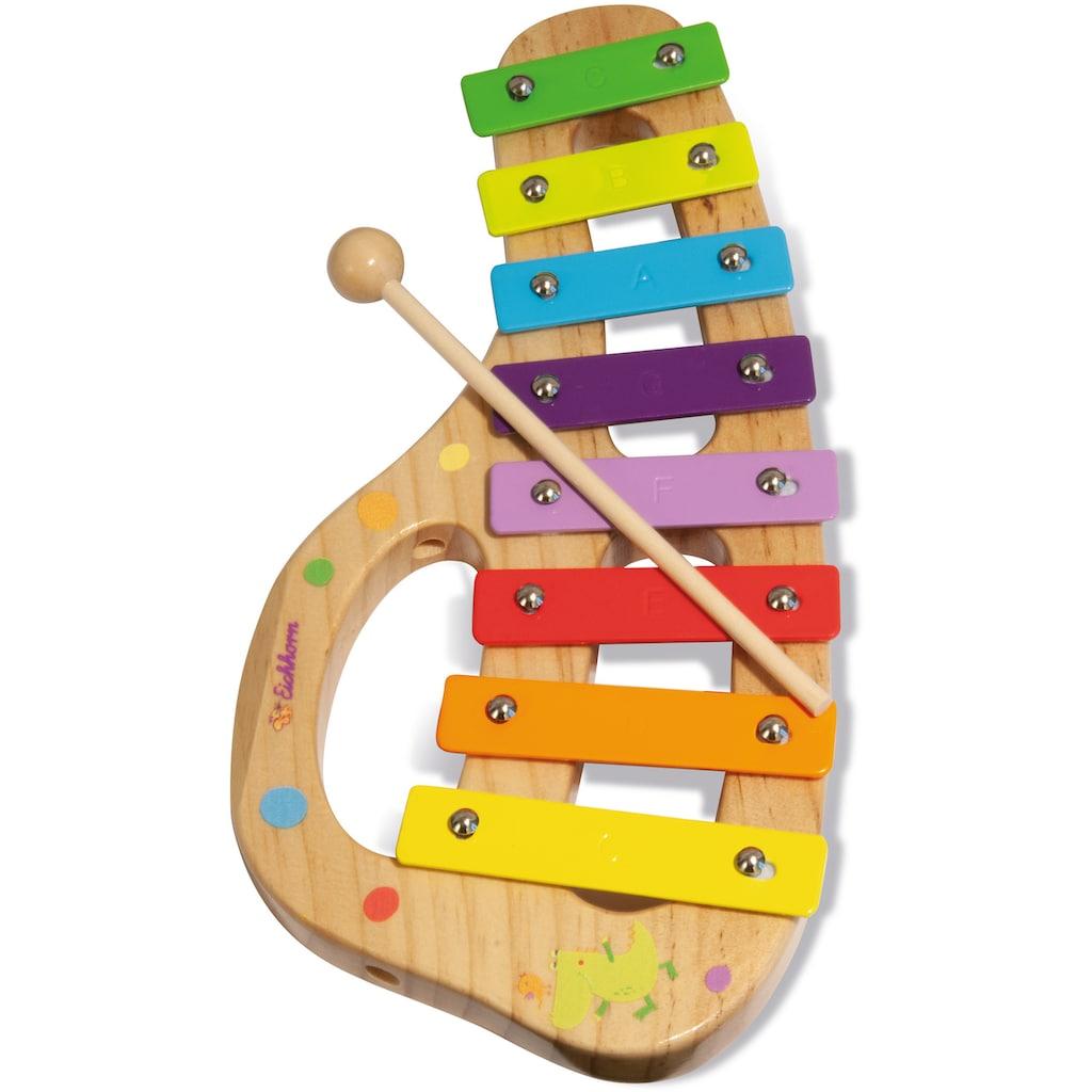 Eichhorn Spielzeug-Musikinstrument »Xylophon«, inkl. Liederbuch