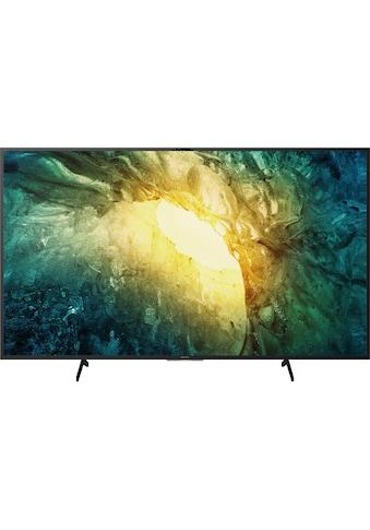 "Sony LED-Fernseher »KD55X7055 Bravia«, 139 cm/55 "", 4K Ultra HD, Smart-TV kaufen"