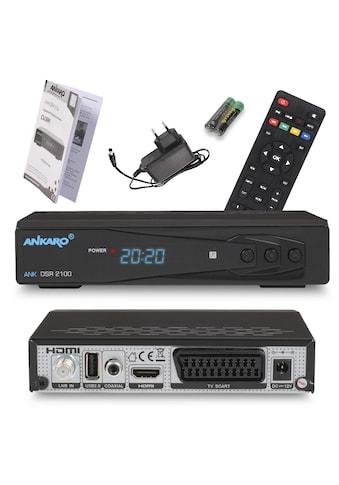 Ankaro SAT-Receiver »ANK DSR 2100 Full HD« kaufen