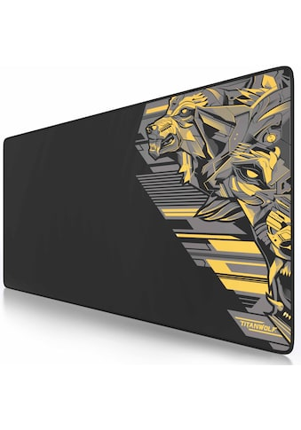 Titanwolf Gaming Mauspad »Mousepad 900 x 400mm große Fläche«, XXL aus glattem Stoffgewebe kaufen