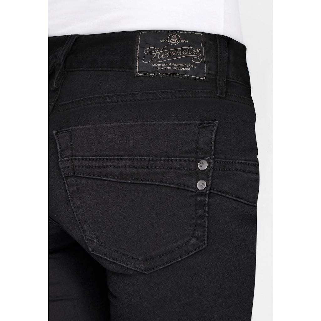 Herrlicher Slim-fit-Jeans »TOUCH SLIM«, Low Waist Push-up-Stretch-Jeans
