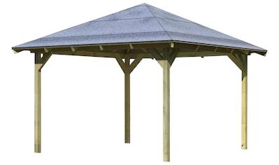 Karibu Pavillon »Granada«, BxTxH: 377x377x303 cm kaufen