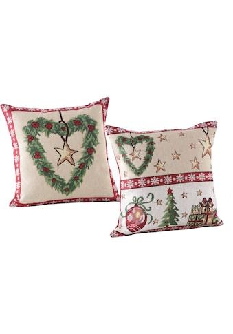 Dreams Kissenhülle »Weihnachtszeit«, (2 St.) kaufen