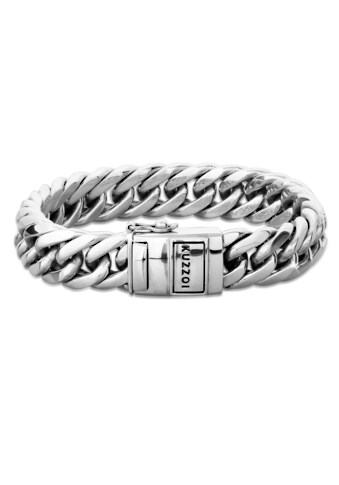 Kuzzoi Armband »Herren Panzerarmband Kastenverschluss 925er Silber« kaufen