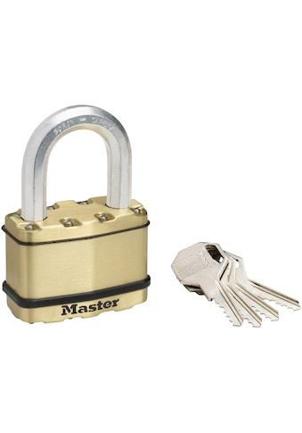 Master Lock Vorhängeschloss »Excell«, Messing kaufen