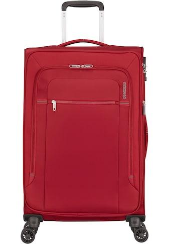 American Tourister® Weichgepäck-Trolley »Crosstrack, 68 cm«, 4 Rollen, mit... kaufen