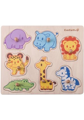 """EverEarth® Puzzle """"Puzzle  -  Safari Tiere"""" kaufen"""