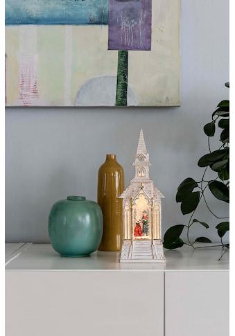 KONSTSMIDE LED Laterne, LED-Modul, 1 St., Warmweiß, LED Kirche, weiß, wassergefüllt kaufen