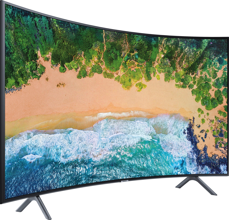 samsung ue65nu7379u curved led fernseher 163 cm 65 zoll 4k ultra hd smart tv auf raten. Black Bedroom Furniture Sets. Home Design Ideas