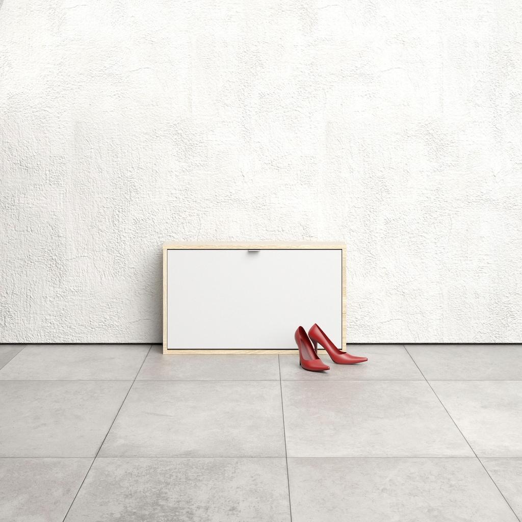 Home affaire Schuhschrank »Shoes«, mit einer Klappe, in verschiedenen Farbvarianten erhältlich