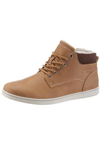 PETROLIO Sneaker, mit modischer Prägung an der Seite kaufen