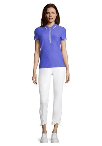 Betty Barclay Kurzarmshirt »mit Reißverschluss« kaufen
